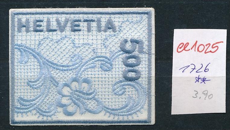 Schweiz Nr. 1726 Stickerei    **  (ee1025  ) siehe Bild