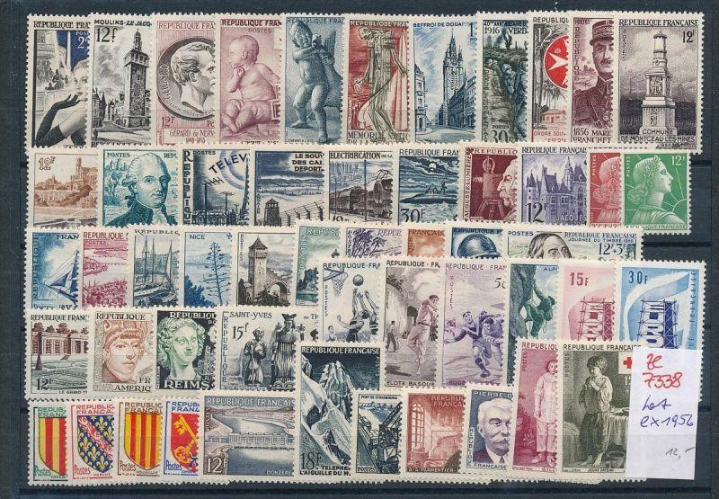 Frankreich ** Lot  ex 1956      (ze7338 ) siehe Bild
