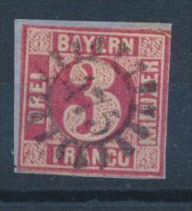 Bayern Nr. 9b  o (s549)siehe Bild