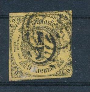 Thurn &Taxis Nr. 10a II  o (s682)siehe Bild
