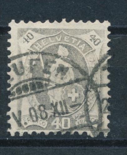 Schweiz  nr. 68 o   (s4577)  siehe bild