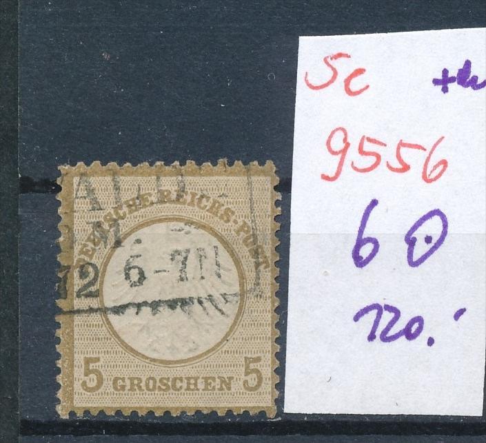 D.-Reich Nr. 6  o   .. (se9556 ) -siehe Bild