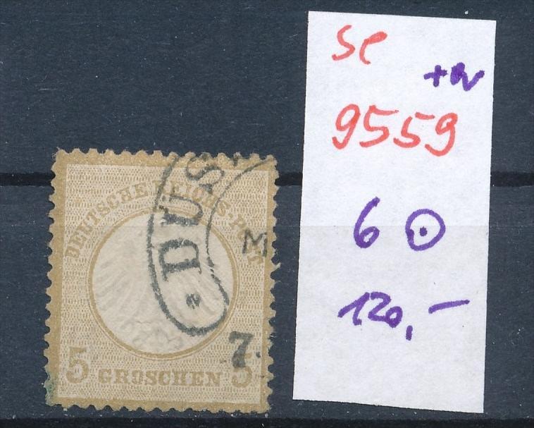 D.-Reich Nr. 6  o   .. (se9559 ) -siehe Bild