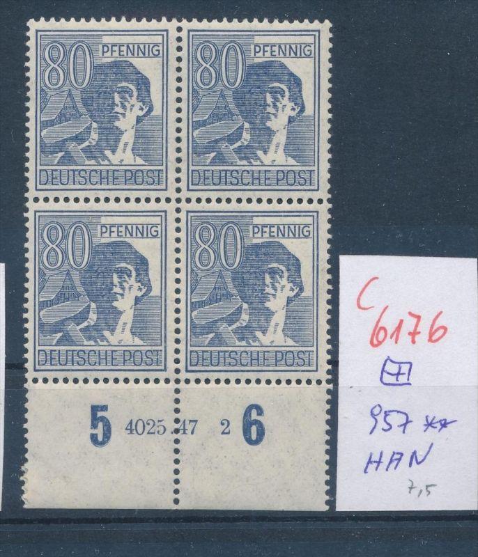 Zonen  Nr. 957 HAN   ** (c  6176 ) -siehe Bild