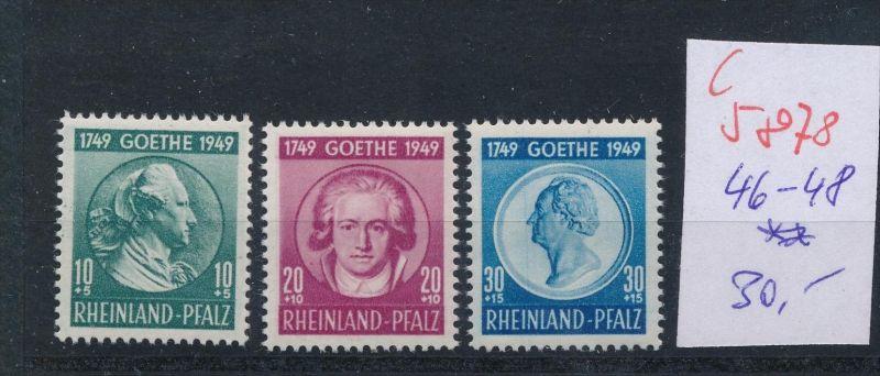 Rheinland Pfalz Nr. 46-8    ** (c  5878 ) -siehe Bild