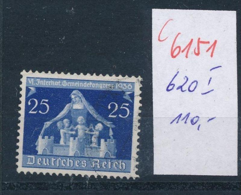 D.-Reich   Nr.  620 I  o    (c  6151 ) -siehe Bild