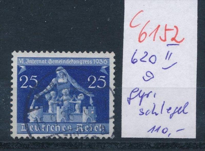 D.-Reich   Nr.  620 II  o    (c  6152 ) -siehe Bild