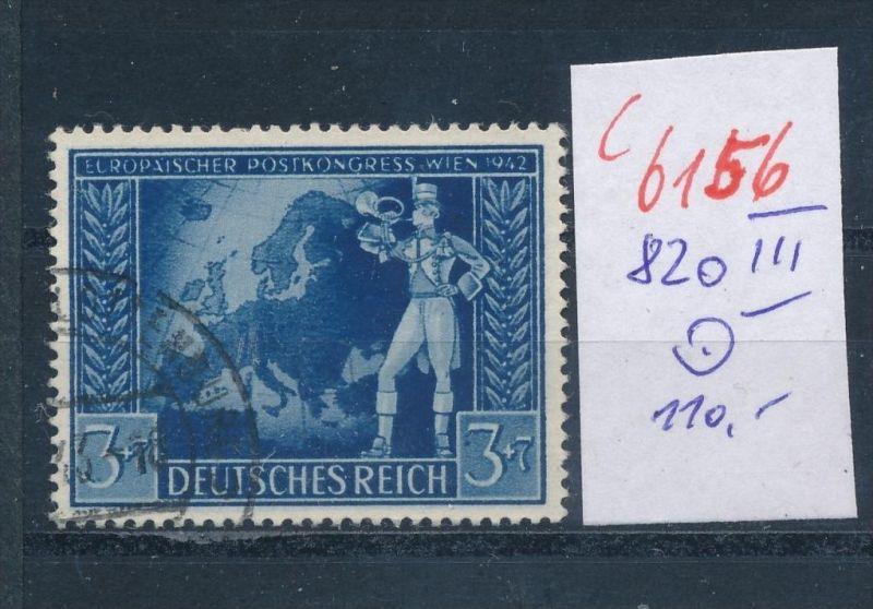 D.-Reich   Nr. 820  III  o    (c  6156 ) -siehe Bild