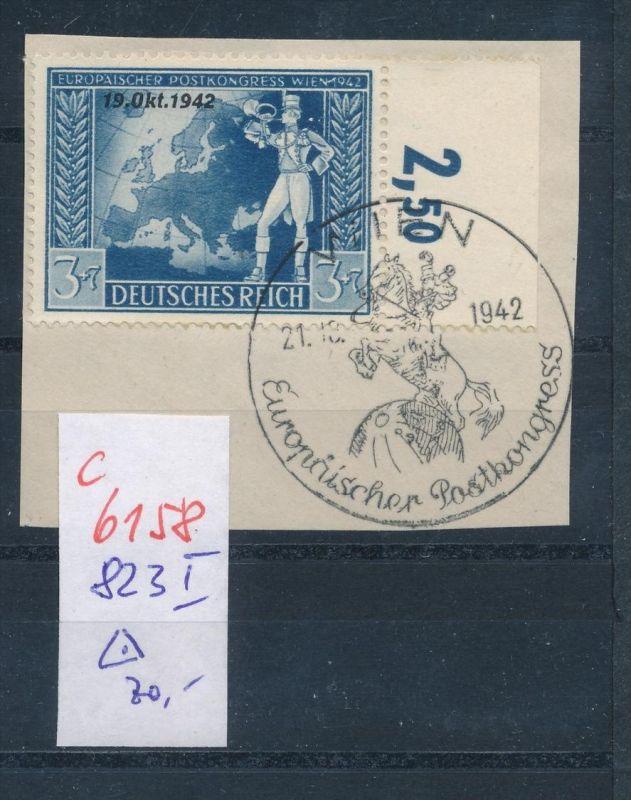 D.-Reich   Nr. 823 I  o    (c  6158 ) -siehe Bild