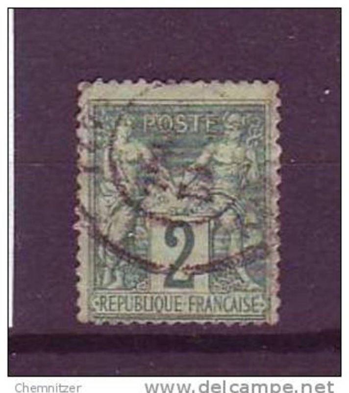 Frankreich Nr. 57 II o   (bb9105 ) siehe Bild