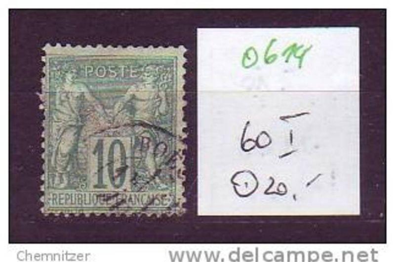 Frankreich  Nr.  60 I     o    ( o614  ) siehe scan