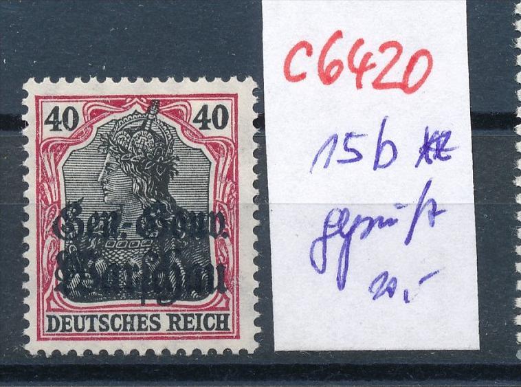 DP.-Polen  15 b ** signiert       (c6420 ) -siehe Bild