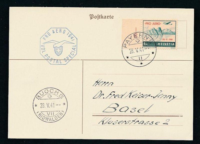 Schweiz Sammler-Beleg ..  ( t9867 ) siehe scan !