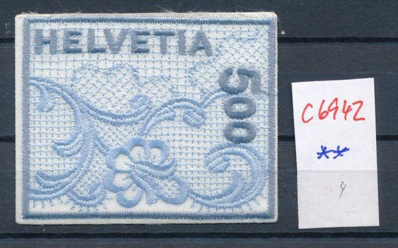 Schweiz -Stoffmarke  ** (c6942  ) siehe scan