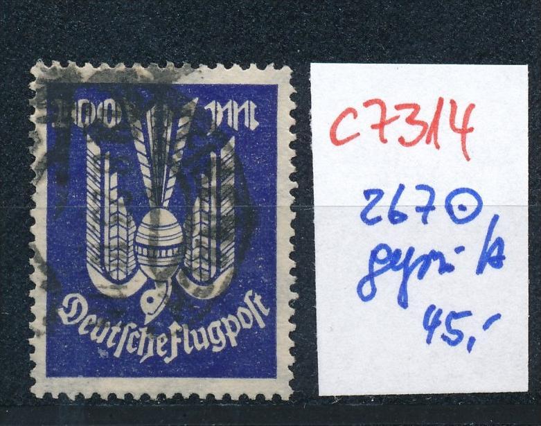 D.-Reich Nr. 267  o    (c7314  ) siehe scan