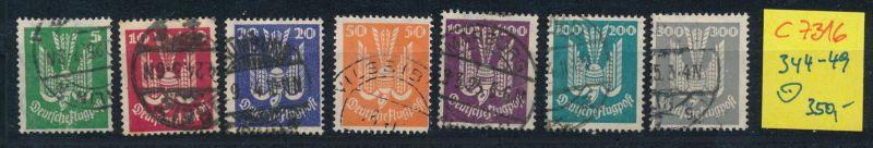 D.-Reich Nr. 344-50  o    (c7316  ) siehe scan