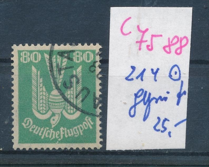 D.-Reich Nr.  214  geprüft   o (c 7588 ) siehe scan