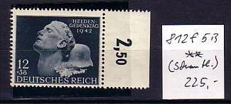 D-Reich  Nr. 812 VI  **   ( f981) siehe scan