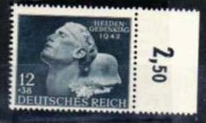 D-Reich Nr. 812f5b  ** Schantl 225,-    ( f 982  ) siehe scan