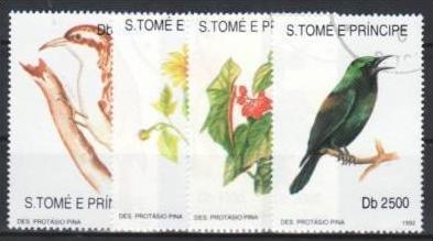 S.Tome e Principe   1330-33  o (m2302 )siehe Bild