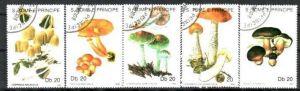 Pilze  Sao Tome 1184-88   o (m1702 ) siehe scan