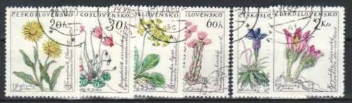 Blumen Tschechen  1234-9  o ( m1719 ) siehe Bild