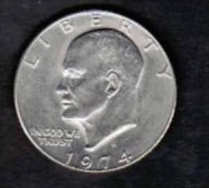 Usa 1 Dollar Liberty 1974 X133 Siehe Bild Nr 40129671 Oldthing