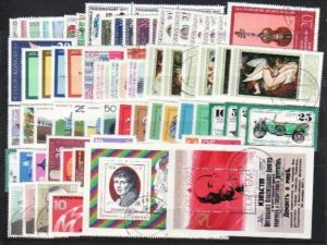 DDR Jahr 1977  sauber o/used (z5389) siehe Bild