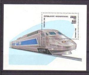 Eisenbahn Madagaskar Bl.238   **( m2852 ) siehe scan