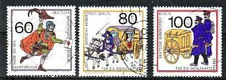 Berlin Nr. 852-4  o/used  (bb5292 ) siehe scan