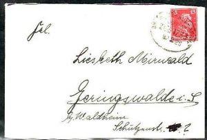 D-Reich   Bahnpost    ( z6277 ) siehe scan