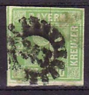 BAYERN  Nr. 9d   o  (bb6974  ) siehe Bild