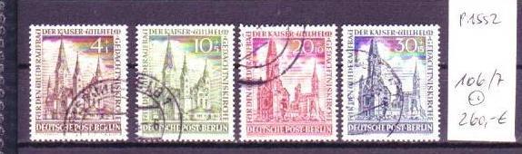 Berlin  Nr. 106-7      o  (p1552 ) siehe scan !