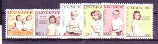 Luxemburg Nr. 660-5 ** (d6072 ) siehe scan