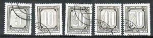 DDR ZKD Nr.1-5 o   (d6305 ) siehe scan