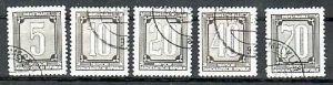 DDR ZKD Nr.1-5 o   (d6307 ) siehe scan