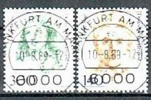 BRD Nr. 1432-33   o/used ( d7137 ) siehe scan-gut und günstig !