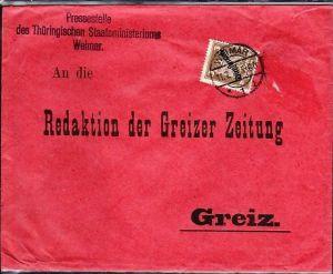 D-Reich Drucksache  EF Dienst   (dc6090  ) siehe Bild