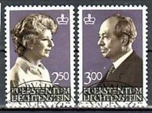 Liechtenstein Nr.828-9  o/fine used (aa4113 ) weit unter ABO Preis 0