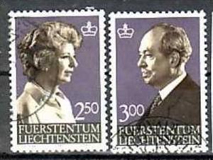 Liechtenstein Nr.828-9  o/fine used (aa4114 ) weit unter ABO Preis 0