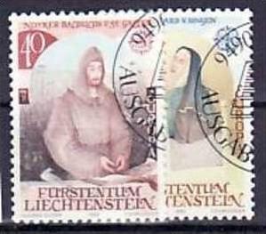 Liechtenstein Nr.816-7   o/fine used (aa4116 ) weit unter ABO Preis 0