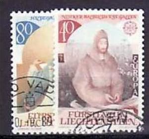 Liechtenstein Nr.816-7   o/fine used (aa4118 ) weit unter ABO Preis 0