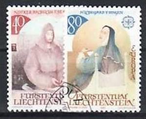 Liechtenstein Nr.816-7   o/fine used (aa4120 ) weit unter ABO Preis 0