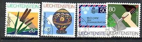 Liechtenstein Nr.824-7   o/fine used (aa4117 ) weit unter ABO Preis 0