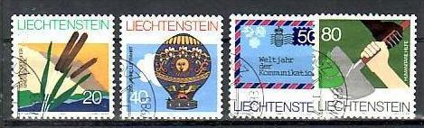 Liechtenstein Nr.824-7   o/fine used (aa4119 ) weit unter ABO Preis 0