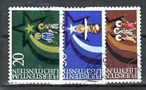 Liechtenstein Nr.831-3  o/fine used (aa4121 ) weit unter ABO Preis 0