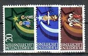 Liechtenstein Nr.831-3  o/fine used (aa4122 ) weit unter ABO Preis 0