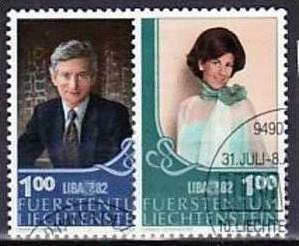 Liechtenstein Nr.797-98   o/fine used (aa4130 ) weit unter ABO Preis 0