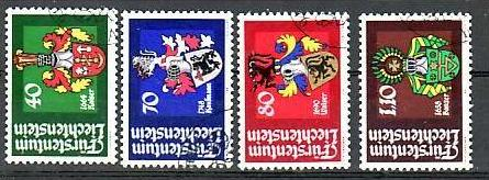Liechtenstein Nr.793-6  o/fine used (aa4147 ) weit unter ABO Preis