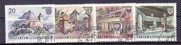 Liechtenstein Nr.780-3 o/fine used (aa4153 ) weit unter ABO Preis